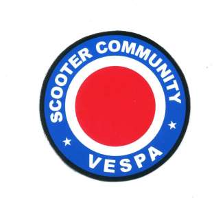 Vespa Piaggio Scooter Car Bike Vinyl Decal Sticker M85