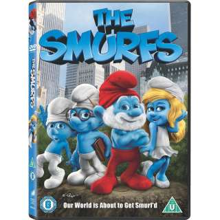 DVD   THE SMURFS (2011) THE MOVIE   NEW & SEALED   OFFICIAL UK STOCK