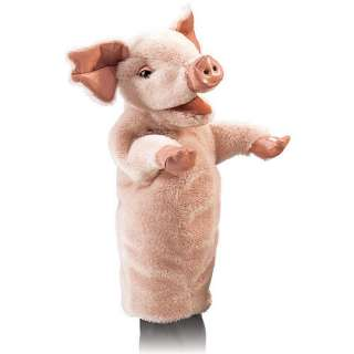 Pig Stage Puppet   Folkmanis Inc.   Puppets   FAO Schwarz
