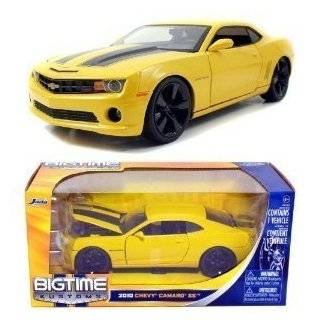 Jada Toys 1/24 Scale Diecast Big Time Muscle 2010 Chevy Camaro Ss in