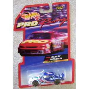 1997 Edition Team Hot Wheels Pro Racing Mark Martin #6 Valvoline Die
