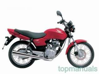 MANUAL TALLER HONDA CG 125 WORKSHOP SERVICE CG125