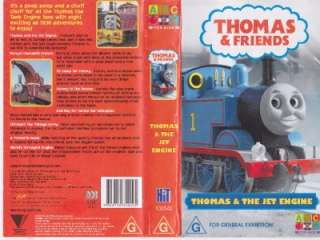 THOMAS THE TANK ENGINE VHS VIDEO PAL~ A RARE FIND