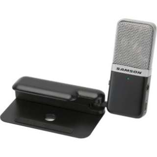 Samson Audio GoMic Portable USB Condenser Microphone   Black in Corded