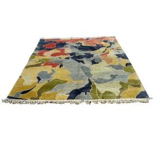 6ft x 8ft Tibet Nepali Hand Knotted Rug 70%OFF MR11069