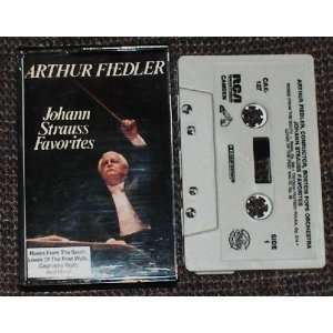 Johann Strauss Favorites: Arthur fiedler, Boston Pops Orchestra: Music
