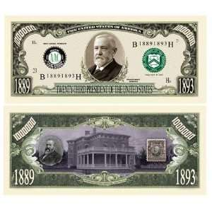 Benjamin Harrison Million Dollar Bill Case Pack 100 Toys
