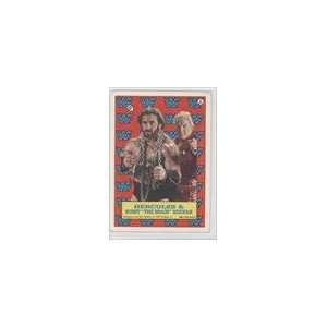 Stickers #6   Hercules w/Bobby The Brain Heenan Sports Collectibles