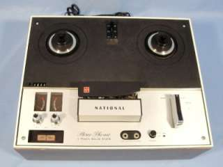 National aka Panasonic Reel to Reel Tape Deck Recorder Model RS 766US