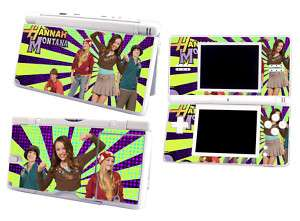 Skin Sticker to fit Nintendo DS Lite   Hannah Montana