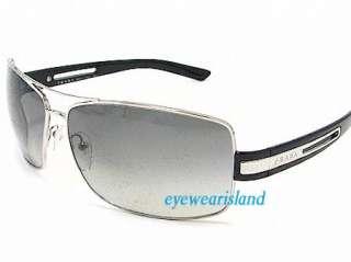 PRADA SPR 54I Sunglasses SPR54I Silver 1BC 3M1 Shades