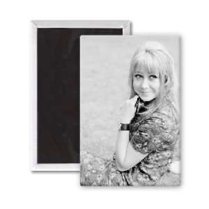 Felicity Kendal   3x2 inch Fridge Magnet   large magnetic button