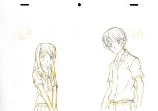 KimiKiss ~ Pure Rouge ~ Anime Cel Sketch Kimi Kiss SET