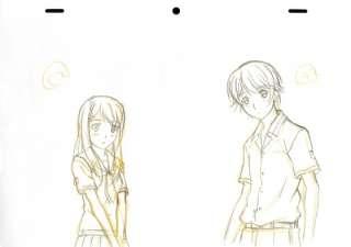 KimiKiss ~ Pure Rouge ~ Anime Cel Sketch Kimi Kiss SET