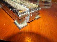 FREE SHIPPING!! 30s Silver Bullet Style Chrome Vintage Tobacco