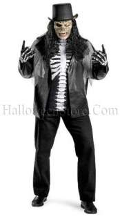Cryptic Rocker Plus Size Adult Costume Skull Slash XXL