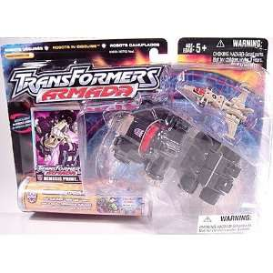 Transformers Armada Nemesis Prime with Minicon Over Run