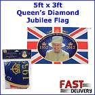 5ft x 3ft (80x133)cm Queens Diamond Jubilee Large Flag Union Jack GB
