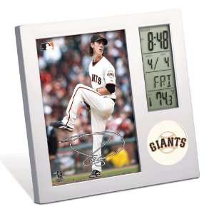 MLB Tim Lincecum Desk Clock