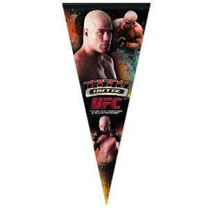 UFC Mixed Martial Arts Tito Ortiz Premium Quality Pennant