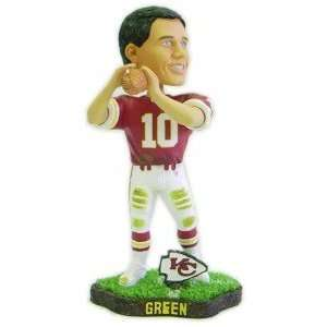 Trent Green Game Worn Forever Collectibles Bobblehead