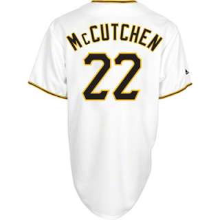 Adult Majestic Home White Replica #22 Pittsburgh Pirates Jersey