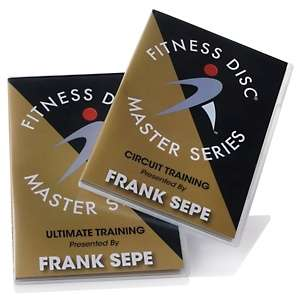 Frank Sepe Fitness Disc Master Series Workout DVD Set