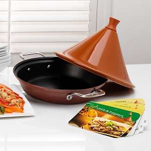 Emerilware by All Clad Nonstick Tagine with 14 Recipe Cards