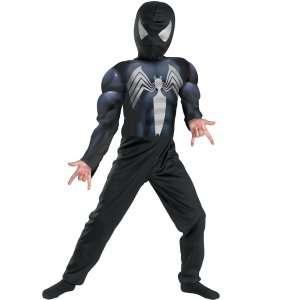 Black Suited Spider Man Child Costume, 32930