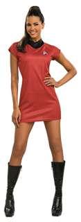 Deluxe Star Trek Movie Red Dress Costume   Star Trek Costumes