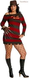 Nightmare On Elm Street   Miss Krueger Plus Adult Costume