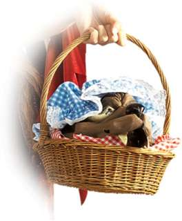 Wolf Head In A Basket (Accessories)