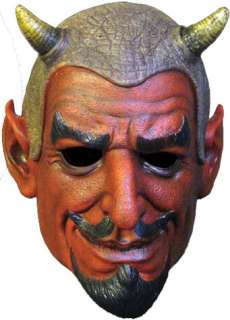 The ultimate vintage Devil full head latex mask comes complete with