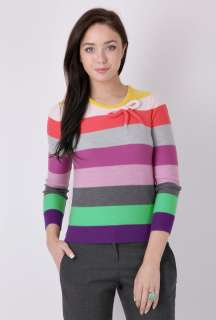Striped Bow Sweater by Sonia by Sonia Rykiel   Multicoloured   Buy
