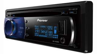 Pioneer DEH P4200UB car stereo AM FM HD XM USB Sirius CD IPOD AUX Zune
