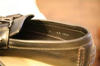 Louis Vuitton Monte Carlo Moccasin In black Leather Loafers Men 7 NIB