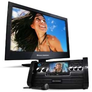 Electrohome Portable Karaoke DVD/CD+G/ Player Speaker