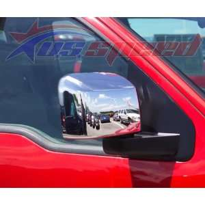 2004 2008 Ford F150 XL / STX Chrome Mirror Covers 2PC