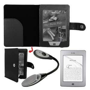 Premuim 6 inch series LCD screen protector+skque black