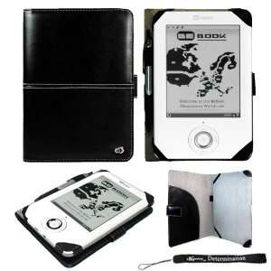 com Premium Faux Leather Durable Protective Black Carrying Cover Case