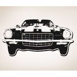 Vinyl Wall Decal Sticker 70s Inspired Car 3 #OS_AA122B
