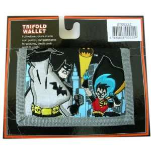 Batman & Robin Wallet : Batman Children Trifold wallet