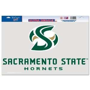 Cal State Sacramento Hornets Official 11x17 Car Window Cling Decal