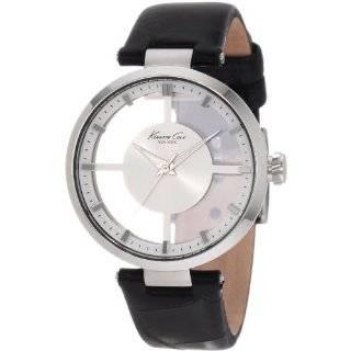 Womens EL20112S01C Steel Black Dial Black Strap Watch Watches
