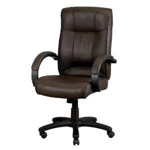 Odyssey Brown Leather Executive Chair Brown Leather