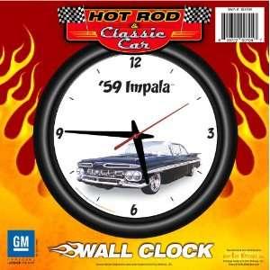 12 Wall Clock   Chevrolet, Hot Rod, Classic Car