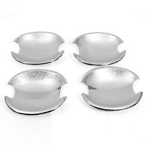 Chrome Side Door Handle Bowl Cover Trims For 1999 to 2004
