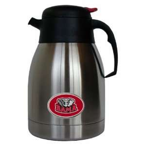 Alabama Crimson Tide Coffee Carafe 2 Liter Stainless Steel