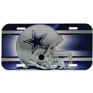 Dallas Cowboys   Giant Helmet License Plate, NFL