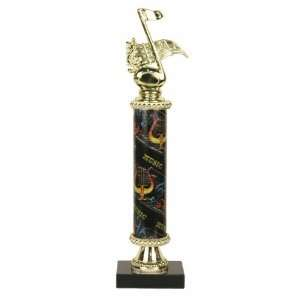 Music Note Trophy   Marble Base   Music Column Sports & Outdoors